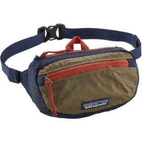 Patagonia Lightweight Travel Mini Hip Pack Classic Navy with Mojave Khaki
